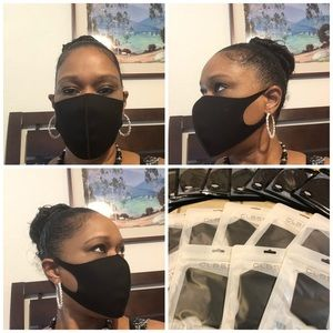 Other - Unisex Black Face Masks
